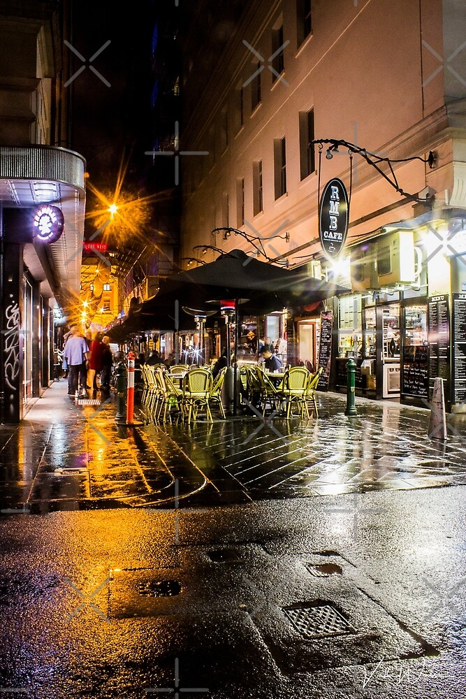 Degraves Street, Melbourne, Victoria, Australia by VickiWalsh