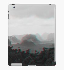 Clouds, hills, and mountains iPad Case/Skin