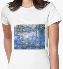 Claude Monet - Water Lilies 1919 Women's Fitted T-Shirt