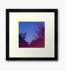 Still A Dark Night Framed Print