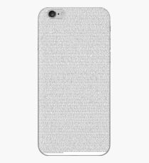 Every Lyric From Midnight Memories iPhone Case