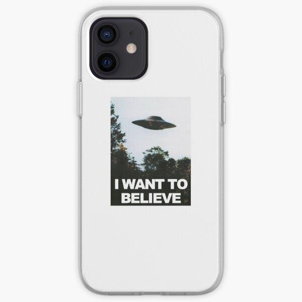 Quiero creer Funda blanda para iPhone