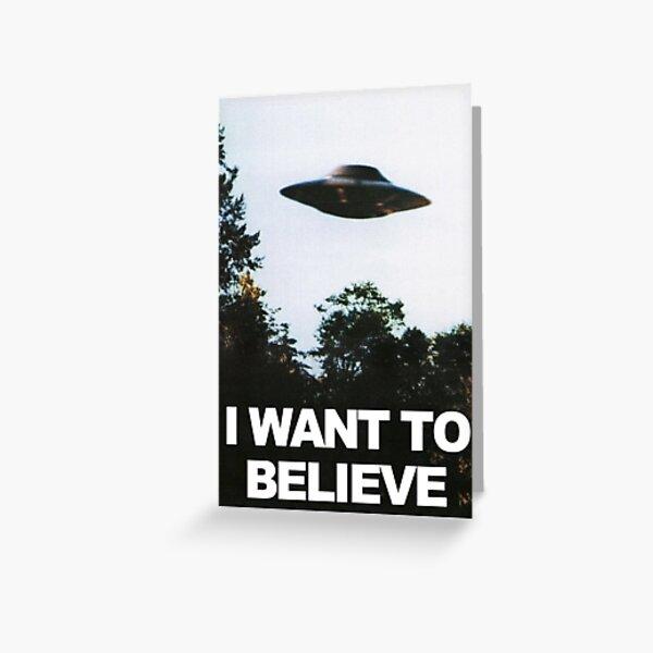Quiero creer Tarjetas de felicitación