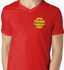 Central Michigan Men's V-Neck T-Shirt