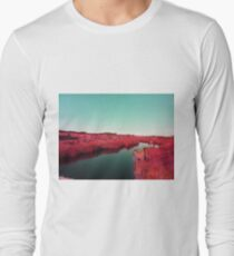 Madagascan River in Red T-Shirt