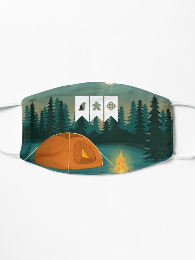 Alternate view of Strange Games Festival Logo pin Mask