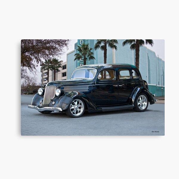 1936 Ford 'Deco Deluxe' Sedan Canvas Print