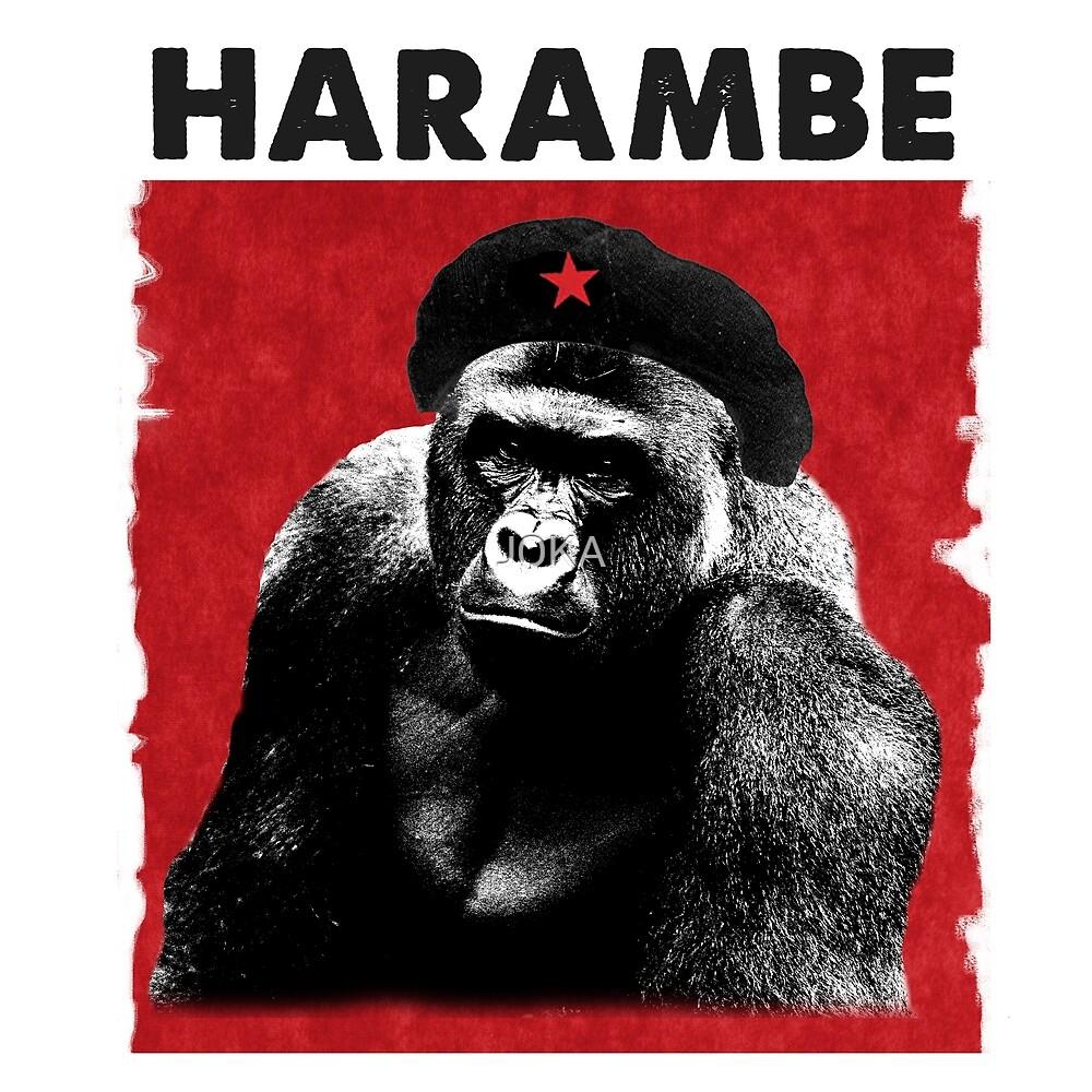 Harambe x Che Guevara by J0KA