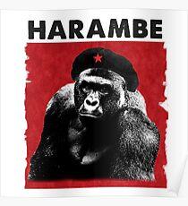 Harambe x Che Guevara Poster