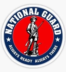 National Guard Sticker