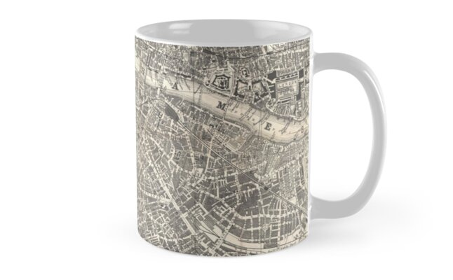 Map of London, 1899 by caitlin2006
