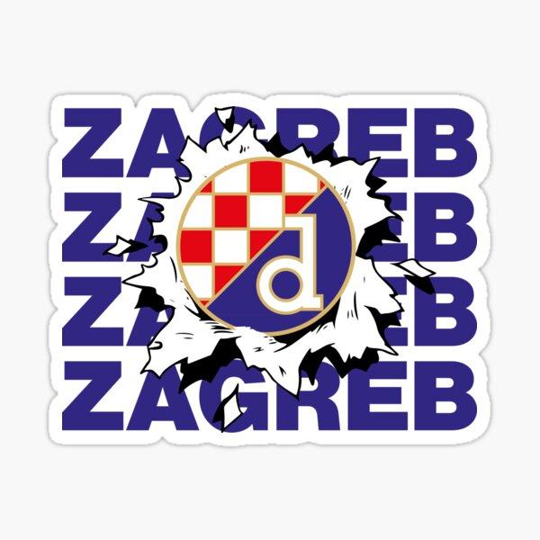 Dinamo Zagreb Maksimir Hrvatska Forever Croatian Boys Sticker
