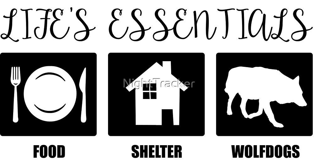 Life's Essentials - Wolfdogs by NightTracker