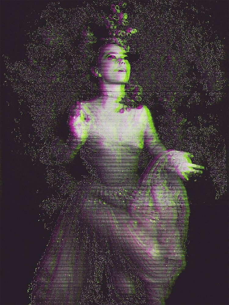 Bjork glitch art by AudetoriLV