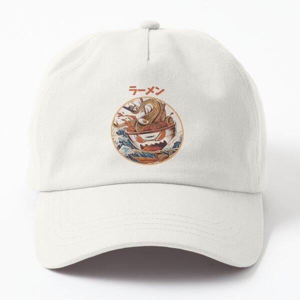 The black Great Ramen Dad Hat