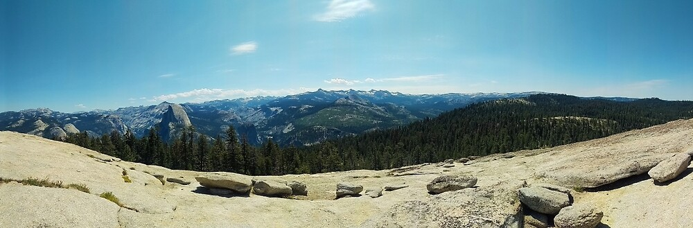 Yosemite Valley Panorama by Alterac