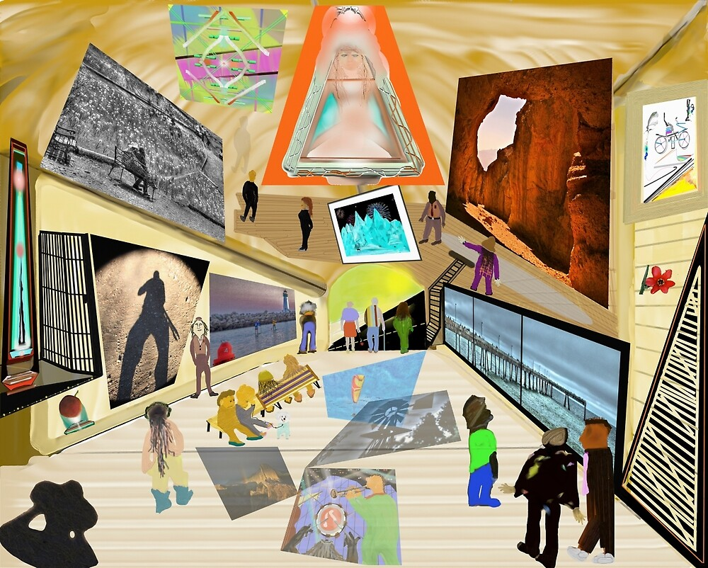 The Gallery by ScHPhotography Digital Paintings and Design