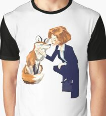 trust of a fox - x files Graphic T-Shirt