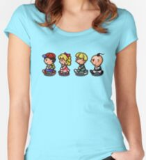 Earthbound Guys Women's Fitted Scoop T-Shirt