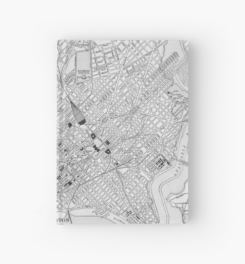 Map of Washington, D.C., 1908 (Day) by caitlin2006