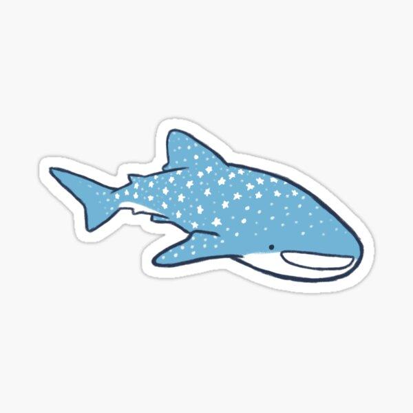 Starry Whale Sharks (Light version) Sticker