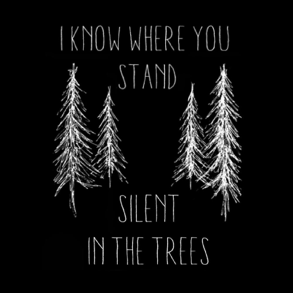 """Silent in the Trees"" - twenty øne piløts design by twentyonepens"