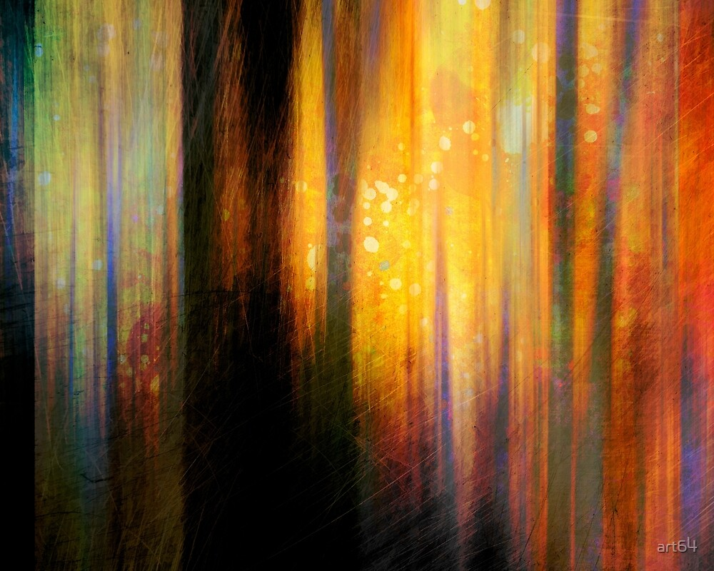 Light In The Forest by art64