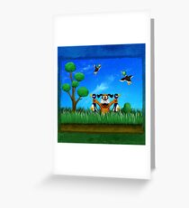 Duck Hunt! Greeting Card