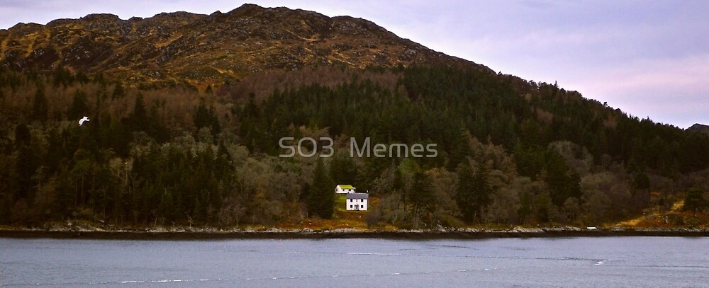 Lone Cabin in The Mountains by olliecrawford