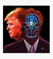 Trump Plankton Photographic Print