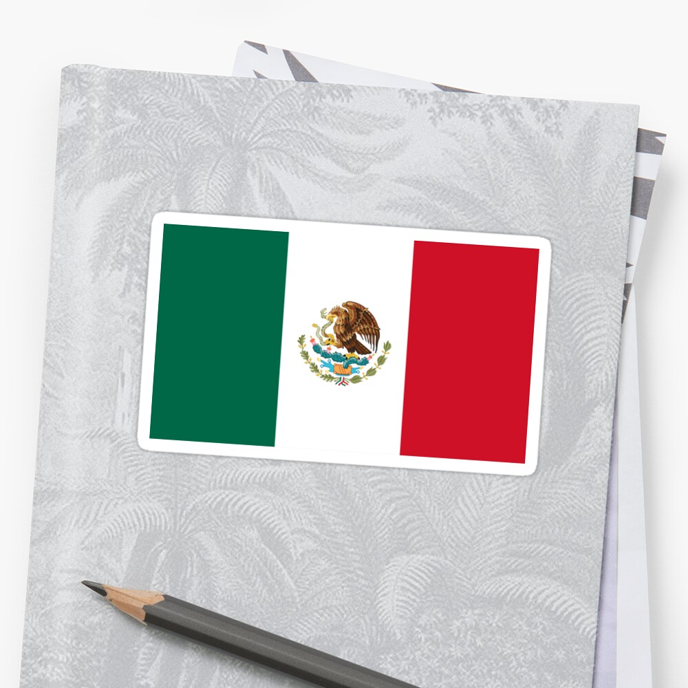 Mexico Flag by states