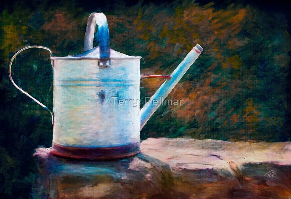 Watering Can by Terry  Pellmar