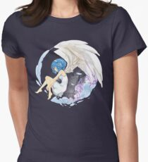 Phyrnna - Circular Thoughts Women's Fitted T-Shirt