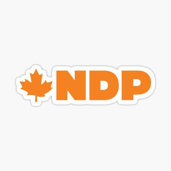 Neue Demokratische Partei Kanadas Sticker