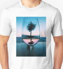 Wine Glass at Sunset T-Shirt