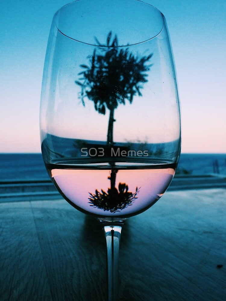 Wine Glass at Sunset by olliecrawford