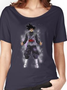 Goku Black Powering up Women's Relaxed Fit T-Shirt