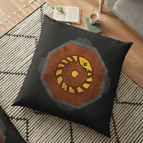 Ghosts of Pahaux FC Floor Pillow