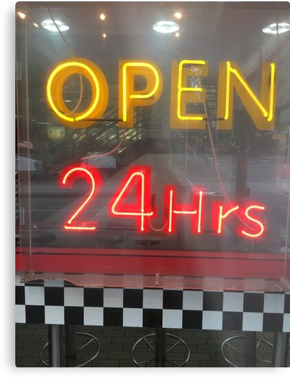 Open 24 Hours by Michael McGimpsey