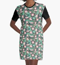 Baby Axolotl Graphic T-Shirt Dress