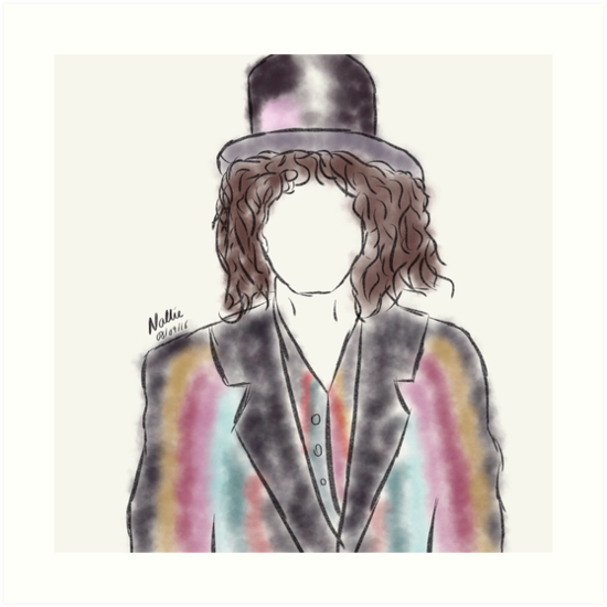 Marc Bolan by nalliessketches