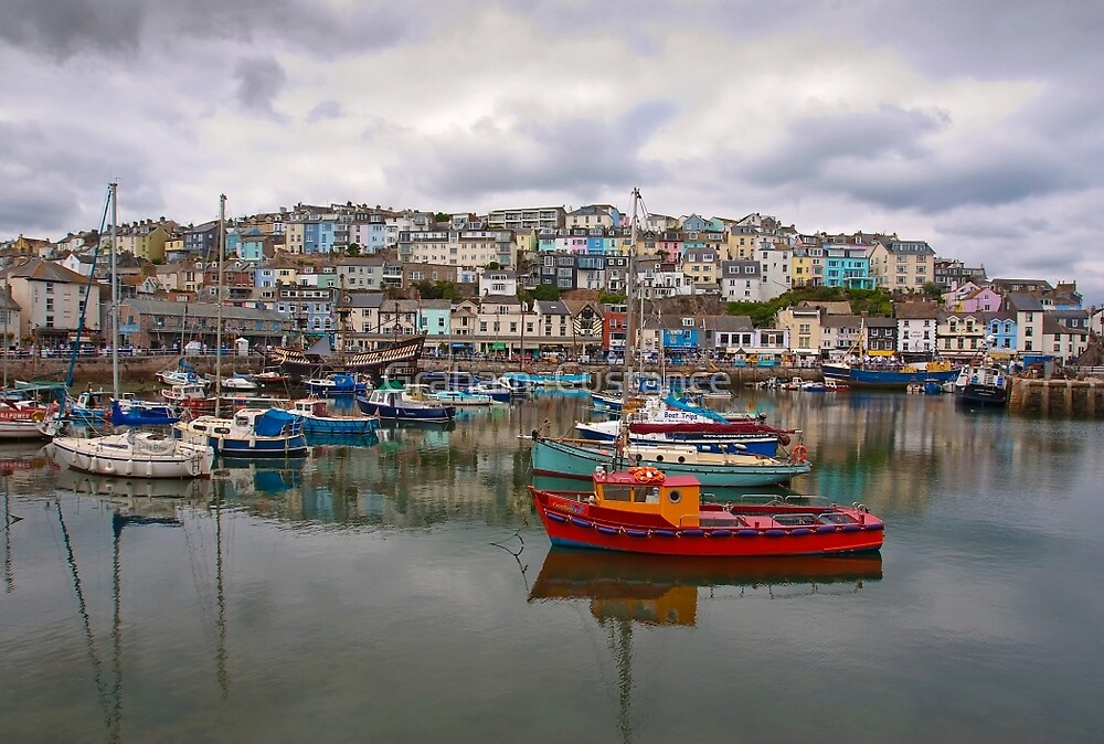 Brixham Harbour by Graham  Custance