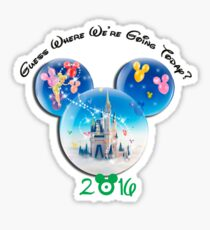 Guess where we are going Today 2016 Sticker