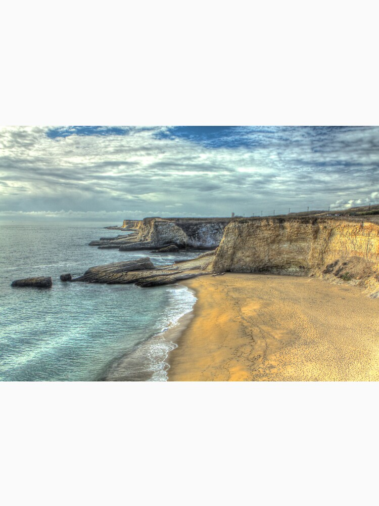 Panther Beach from Cliffs by ScHPhotography