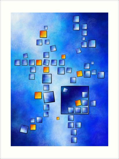 Cublerossia V1 - falling cubes by Cersatti