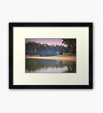 Weekend Camping Framed Print