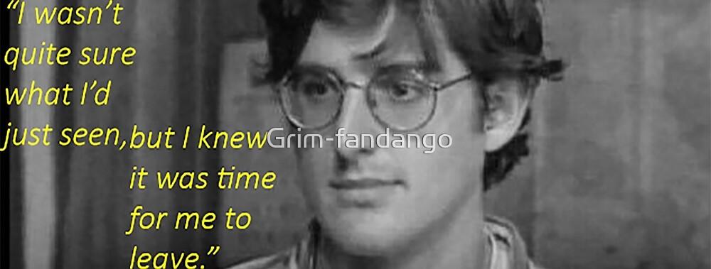 I wasn't quite sure by Grim-fandango