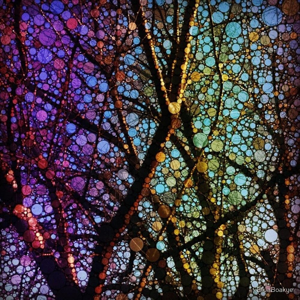 Circle of trees by EfuaBoakye