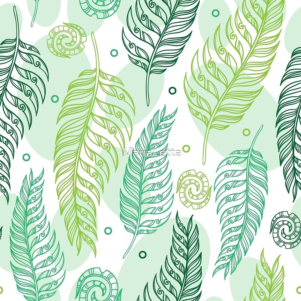 Maori fern by MariaLetta
