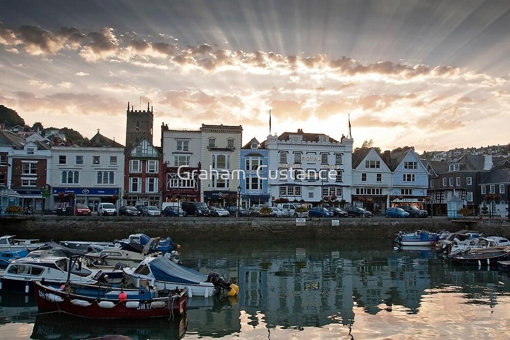 Dartmouth Sunset by Graham  Custance